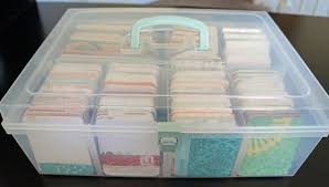 to my card project journaling card storage i one of these on the