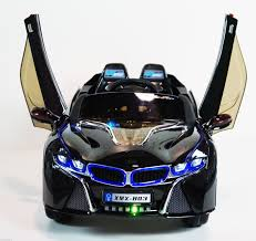 Bmw I8 2016 Black - 2016 bmw i8 12 volt battery powered electric ride on kids toy car