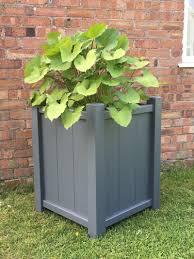 wooden garden planters accoya planters