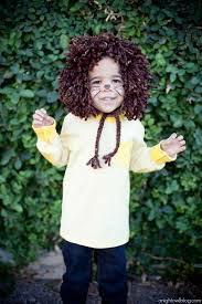 Lion Halloween Costume Toddler Easy Sew Kids Lion Halloween Costume Night Owl Blog