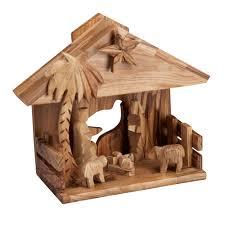 music box nativity