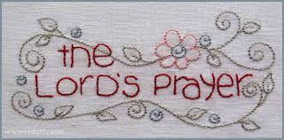 jenny of elefantz the lord u0027s prayer stitchalong block 1