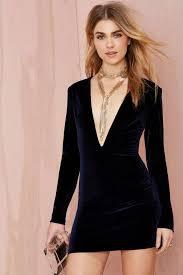 nasty gal deep midnight mini velvet dress navy thanks it u0027s
