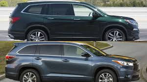 nissan pathfinder vs toyota highlander stunning toyota highlander vs honda pilot on small automobile