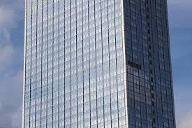 tour de bureau façade de gratte ciel extérieur de tour de bureau image stock
