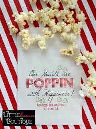 popcorn favor bags popcorn bags wedding favor bagspopcorn favor bags birthday