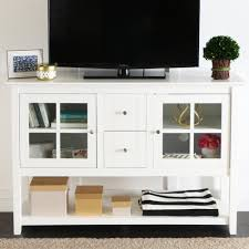 console table under tv amazon com we furniture 52 console table wood tv stand console