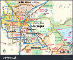 Boulder Zip Code Map by Map Of Las Vegas Nevada My Blog
