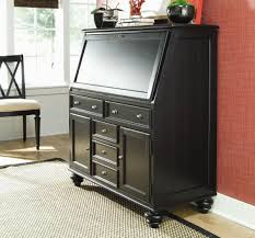 Secretary Desk With Drawers by American Drew Camden Dark Secretary Desk With Drop Down Lid