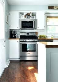 kitchen microwave ideas over the stove cabinet ideas kitchen cabinet range hood design