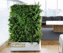cheap plastic wall cover wholesales fake wall hanging plant