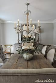 Dining Chandeliers Some Subtle Fall Touches In Our Dining Room Dear Lillie