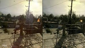dying light playstation 4 dying light ps4 vs pc comparison youtube