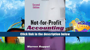 read book not for profit accounting made easy warren ruppel for