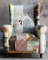 Flexible Love Chair by Love The Bohemian Patchwork Take On A Traditional Chair Could Do