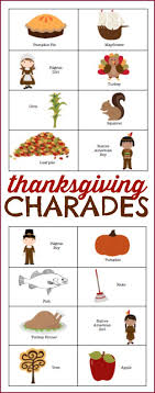 thanksgiving charades i can teach my child