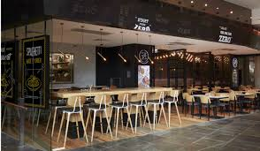 newly opened zero in mong kok where you can design your own pizza zero at langham place in mong kok