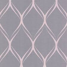 gustav purple geometric wallpaper contemporary wallpaper by