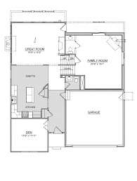 the manchester is a multi level floor plan with 4 bedrooms and 2