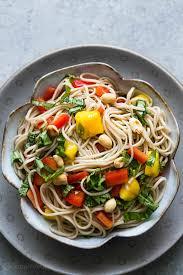 noodle salad recipes soba noodle salad recipe simplyrecipes com