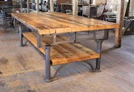 Vintage Conference Table Vintage Industrial Table Industrial Vintage Cast Iron Wooden