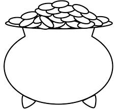 leprechaun coloring pages printable free pot of gold coloring pages getcoloringpages com
