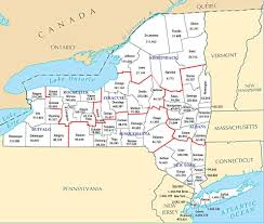 New York County Map How Might New York Be Divided Into Multiple States Part 2