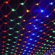 led net lights multi color 1 5m 1 5m net lights 6w 96 led net mesh decorative fairy lights