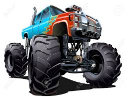 bigfoot monster truck model cartoon monster truck available eps 10 separated by groups and