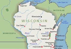 Wisconsin State Map by 100 Green Bay Map Door County Green Bay Wood Map 3d