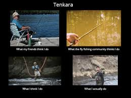 Fly Fishing Meme - what tenkara actually looks like tenkara talk
