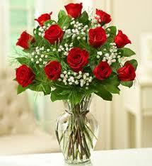 Long Stem Rose Vase 2 Dozen Red Roses And 1 Dozen White Roses Bluebird Floral