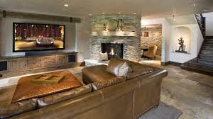 fireplace niche decorating ideas basement rustic with ceiling