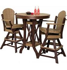 Pub Table And Chairs Set Table And Chair Sets South Texas Amish Furniture U0026 Amish