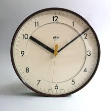 Wall Clock Design Industry Design Braun Abk 31 Wall Clock By Dietrich Lubs