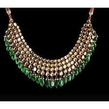 green stone necklace set images Green gemstone necklace at rs 500 piece gemstone necklaces id jpg