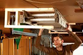 Wood Garage Storage Cabinets How To Build Shelves In Garage Pleasant Home Design