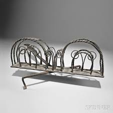 Rotary Toaster Wrought Iron Rotary Toaster Sale Number 2832m Lot Number 123