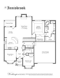 Custom Floor Plan The Innisbrook A Custom Floor Plan By Worthington Homes
