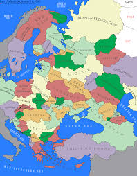 Eastern Europe Map Eastern Europe Maps Pinterest Best Of Map With Cities