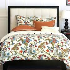 rust colored quilt modern bedding sets designer home decor and