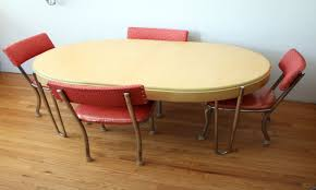 red retro kitchen table chairs video and photos madlonsbigbear com