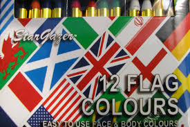 Flag Face Theatrical Threads Flag Face Paints For Eurovision
