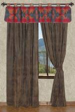 Rustic Curtains And Drapes Rustic Cabin Lodge Curtains And Drapery