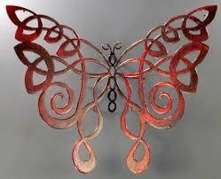 celtic butterfly unique metal designs