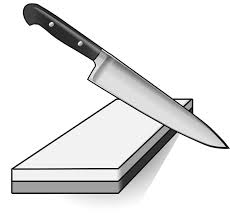 How To Sharpen Kitchen Knives At Home How To Sharpen A Knife Make