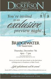 join the vip list for bridgewater in traditions at forest