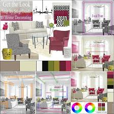 Contemporary  Feminine Loft Living Room  Step By Step Guide To - Get decorating living rooms