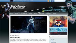 20 best games blogger templates templatemag