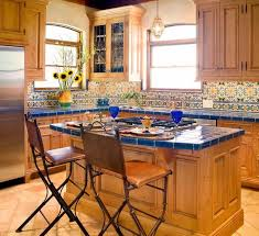 Mexican Tile Kitchen Ideas Kitchen Design Light Green Kitchen White Tile Tiles Style Design
